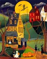 Halloween Trick or Treat Fine Art Print