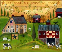 God Shed His Grace on Thee Lang 2018 Fine Art Print