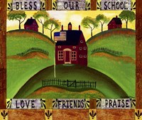 Bless our School Fine Art Print