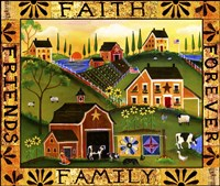 Faith Family Friends Forever Fine Art Print