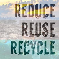 Reduce Reuse Recycle II Fine Art Print
