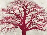 Purple Oak Fine Art Print