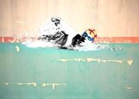 Swim on! Bronx, NYC Fine Art Print