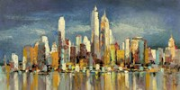 New York, riflessi del mattino Fine Art Print