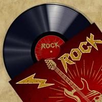 Vinyl Club, Rock Fine Art Print