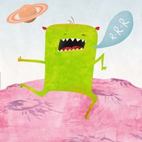 Alien Friend #1 Fine Art Print
