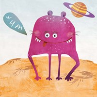 Alien Friend #2 Fine Art Print