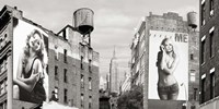 Billboards in Manhattan Fine Art Print
