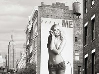 Billboards in Manhattan #2 Fine Art Print