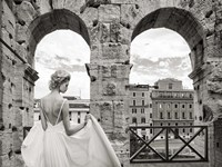 From the Colosseum, Rome Fine Art Print