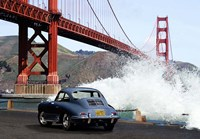 Under the Golden Gate Bridge, San Francisco Fine Art Print