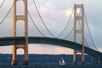 Mackinac Bridge Fine Art Print