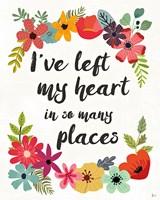 Words and Petals II Fine Art Print