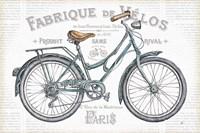 Bicycles I Fine Art Print