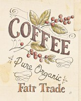 Authentic Coffee VI Framed Print