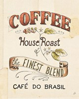 Authentic Coffee IX Framed Print