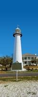 Biloxi Lighthouse, Biloxi, Mississippi Fine Art Print