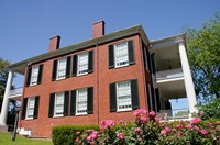 Mississippi, Natchez, Rosalie house Fine Art Print