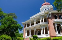 Longwood' house built in Oriental Villa style, 1859, Natchez, Mississippi Fine Art Print