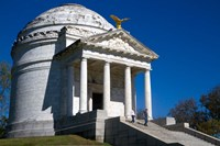 Illinois Memorial, Vicksburg, Mississippi Fine Art Print