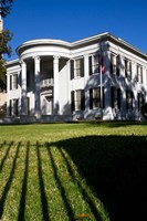 Governor's Mansion in Jackson, Mississippi Fine Art Print