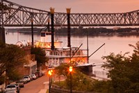 Mississippi, Natchez Under the Hill, Isle of Capri Fine Art Print