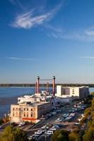 Ameristar Casino, Mississippi River, Mississippi Fine Art Print