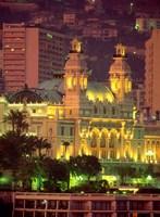 Principality of Monaco, Monte Carlo, Monaco Fine Art Print