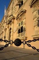 Caserne, Place du Palais, Monte Carlo, Monaco Fine Art Print