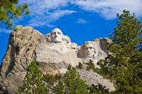 South Dakota, Mount Rushmore National Memorial Fine Art Print