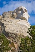 George Washington, Mount Rushmore, South Dakota Fine Art Print