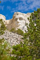 Abraham Lincoln, Mount Rushmore, South Dakota Fine Art Print
