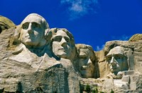 Mount Rushmore in South Dakota Fine Art Print