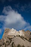 USA, South Dakota, Black Hills, Mount Rushmore National Memorial Fine Art Print