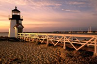 Massachusetts, Nantucket Island, Brant Point Fine Art Print