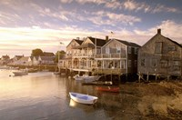 Massachusetts, Nantucket Island, Old North Wharf Fine Art Print