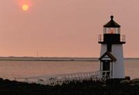 Brant Point lighthouse, Nantucket Fine Art Print