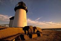 Massachusetts, Nantucket, Brant Point lighthouse Fine Art Print