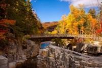 Bridge, Swift River Waterfalls, New Hampshire Fine Art Print