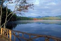 Fall Reflections in Chocorua Lake, White Mountains, New Hampshire Fine Art Print