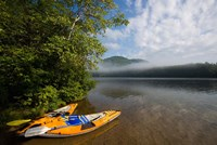 Kayak, Mirror Lake, Woodstock New Hampshire Fine Art Print
