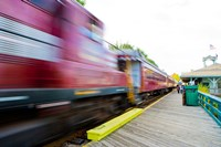 Scenic railroad, Laconia, New Hampshire Fine Art Print