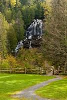 Beaver Brook falls in Colebrook, New Hampshire Fine Art Print