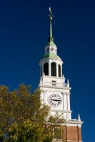 Baker Hall on the Dartmouth College Green in Hanover, New Hampshire Fine Art Print
