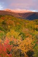 Mt Lafayette in Autumn, New Hampshire Fine Art Print