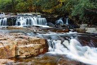 Autumn at Jackson Falls, Jackson, New Hampshire Fine Art Print