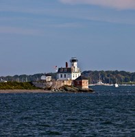 Rose Island Lighthouse, Newport, Rhode Island Fine Art Print