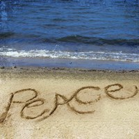 Peace In The Sand Fine Art Print