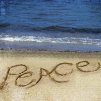 Peace In The Sand Fine Art Print
