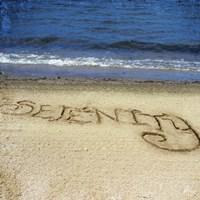 Serenity In The Sand Fine Art Print